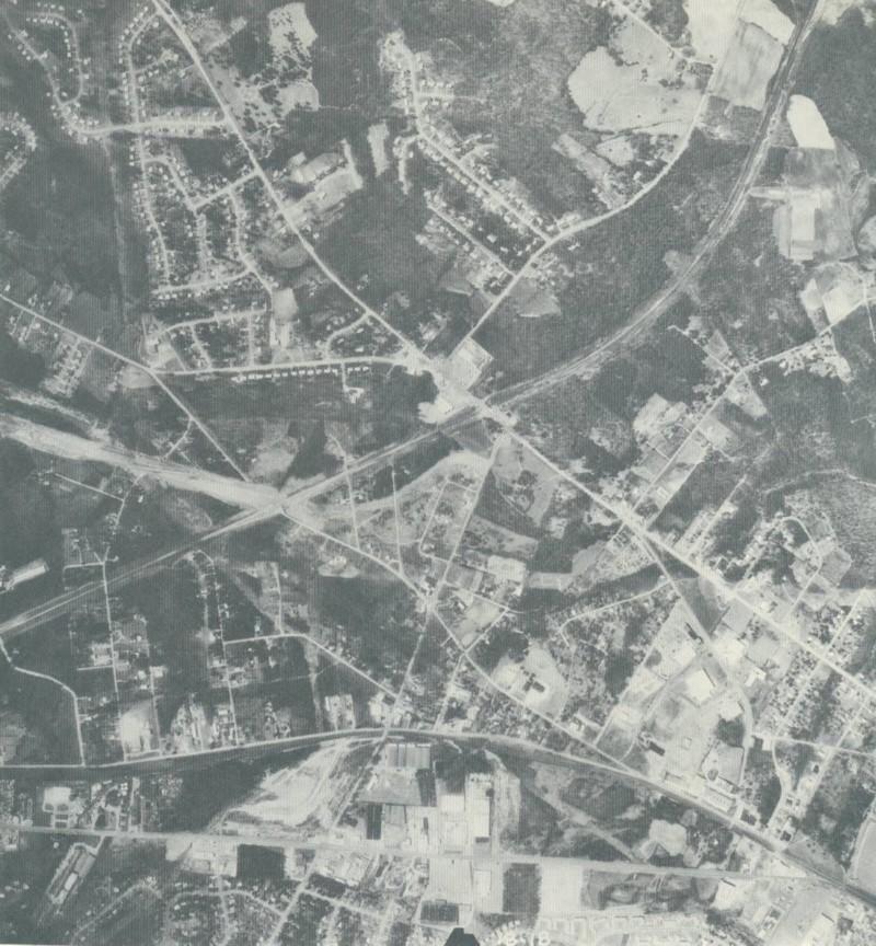 I-77 Under Construction in 1965