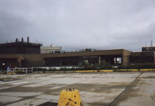 Abandoned Airport Terminals terminal at Greater Pitt