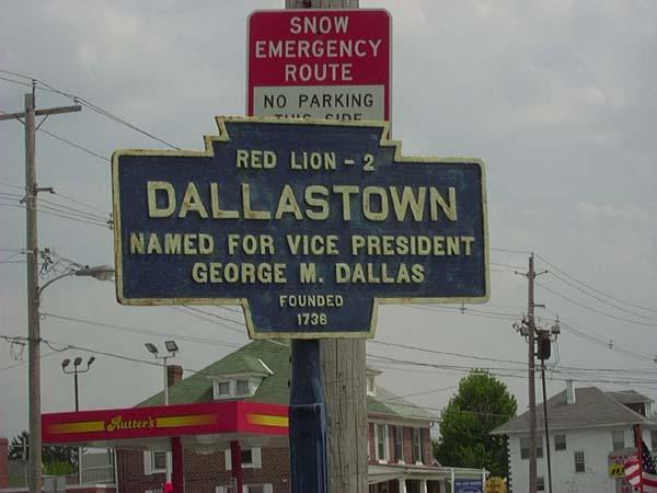 Keystone Town Markersdallas town