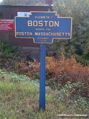 Keystone Town Markers