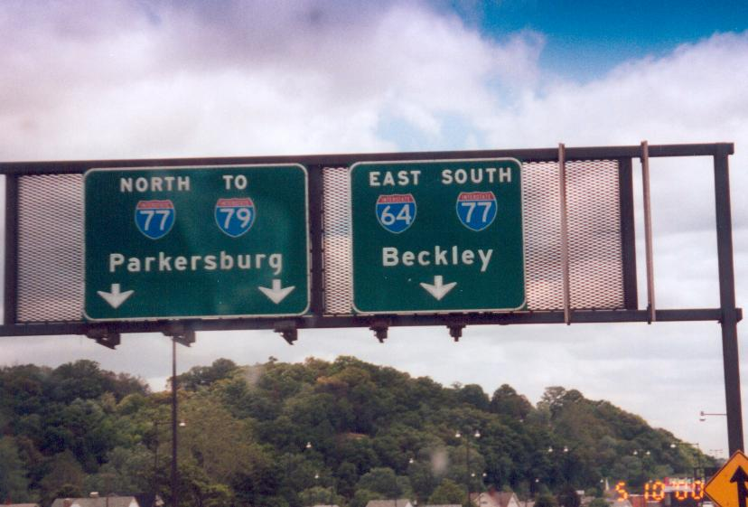 West Virginia Submitted Signs Gallery